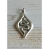 Slang Symboolhanger in Zilver