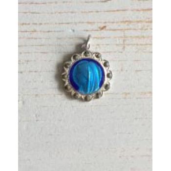 blauw maria bedeltje