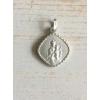 Maria /Jezus Hanger in Zilver
