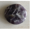 Amethist platte steen