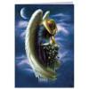 Wenskaart - Angel On Pedestal