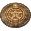 Wierookhouder Hout Pentagram
