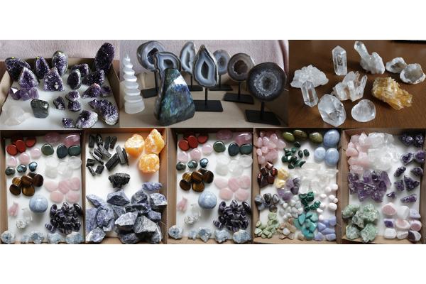 Selectie mineralen